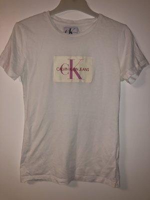 Calvin Klein T-shirt blanc