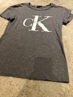 Calvin Klein tshirt Shirt xs grau
