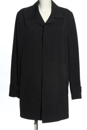 Calvin Klein Płaszcz przejściowy czarny Melanżowy W stylu casual