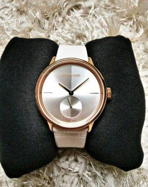Calvin Klein Horloge met lederen riempje veelkleurig
