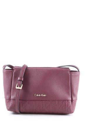 Calvin Klein Umhängetasche pink Business-Look