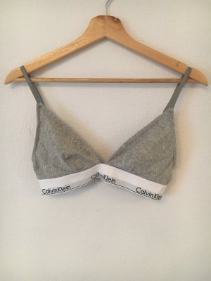 Calvin Klein Soutien-gorge gris-blanc