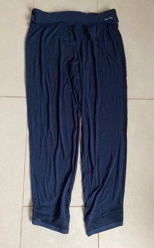 Calvin Klein Piżama ciemnoniebieski-niebieski