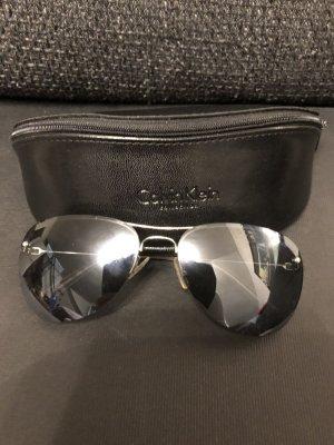 Calvin Klein Unisex Aviator sonnenbrille top Np 165€ schwarz