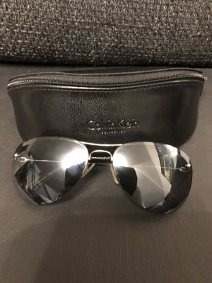 Calvin Klein Aviator Glasses black-anthracite