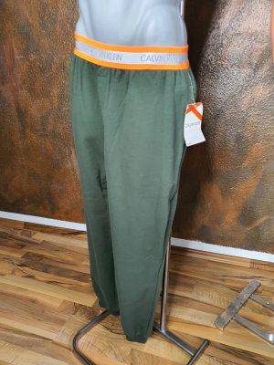 Calvin Klein Pantalón deportivo naranja neón-caqui
