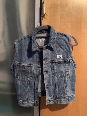 Calvin Klein Jeans Denim Vest azure