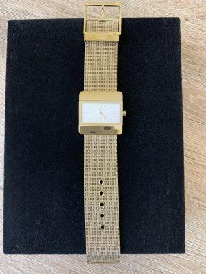 Calvin Klein Montre avec bracelet métallique doré
