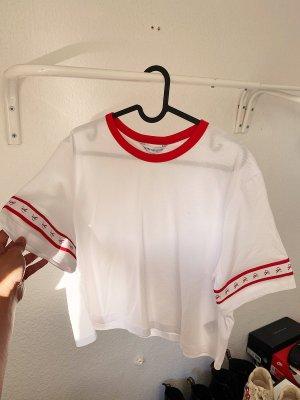 Calvin Klein Koszula o skróconym kroju Wielokolorowy
