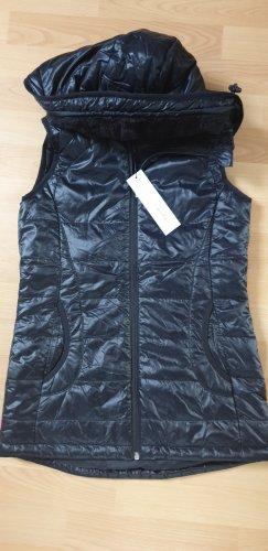 Calvin Klein Chaleco con capucha negro