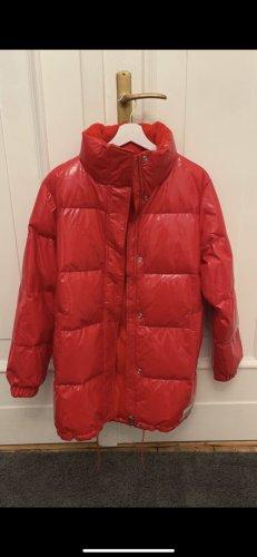 Calvin Klein Kurtka zimowa biały-czerwony