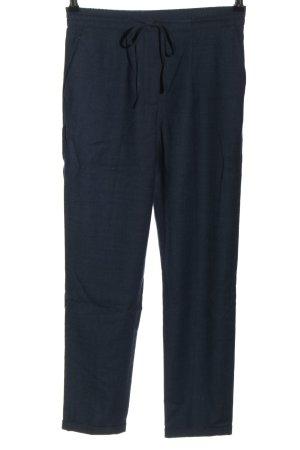 Calvin Klein Wełniane spodnie niebieski W stylu casual