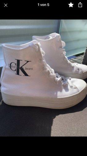 Calvin Klein zabrina sneaker chucks Schuhe Absatz