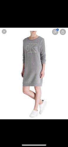 Calvin Klein Jeans Robe Sweat gris