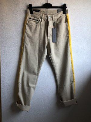 Calvin Klein Jeans Boyfriend Jeans beige-yellow