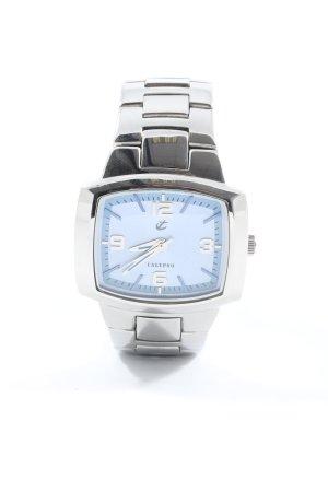 Calypso Analoog horloge zilver casual uitstraling