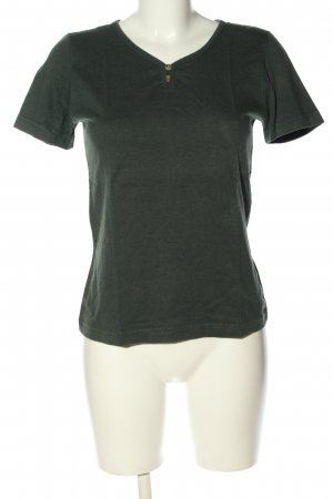 Calypso T-shirt khaki casual uitstraling