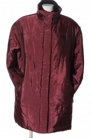 Calypso Winterjack rood quilten patroon casual uitstraling