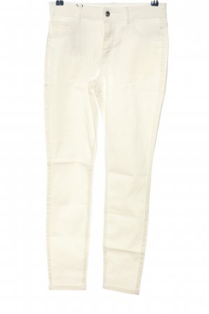 Calzedonia Five-Pocket-Hose weiß Casual-Look