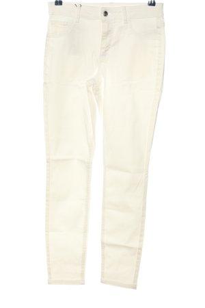 Calzedonia Pantalon cinq poches blanc style décontracté
