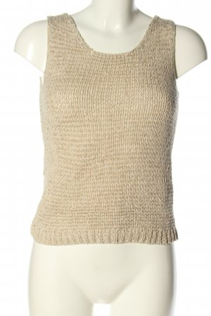 Calzedonia Crochet Top natural white casual look