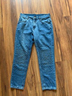 Calzedonia Jeans mit Perlen Mum Jeans