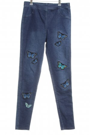 Calzedonia Jeggings blau-türkis Casual-Look