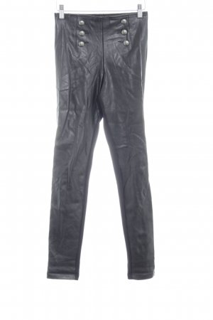 Calzedonia Jeggings schwarz Biker-Look