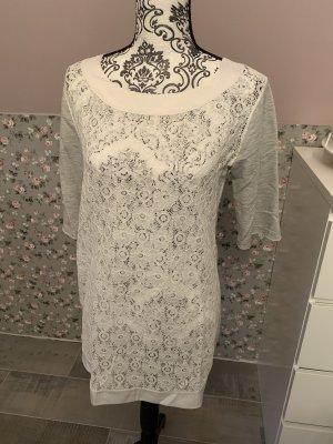 Calzedonia Kleid weiß / grau Gr. 36 / 38