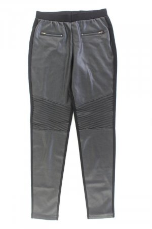 Calzedonia Faux Leather Trousers black polyester