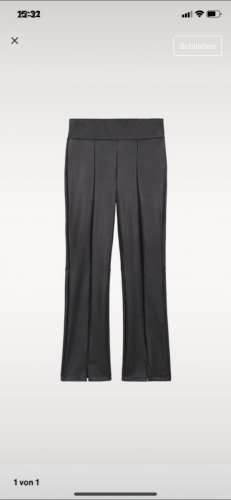 Calzedonia Pantalon en simili noir