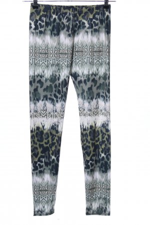 Calzedonia Leggings abstraktes Muster Casual-Look
