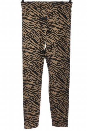 Calzedonia Leggings nude-black abstract pattern casual look