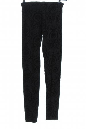 Calzedonia Leggings hellgrau-schwarz Casual-Look