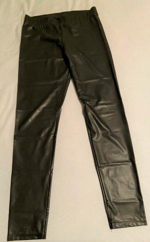 Calzedonia Leggings black polyurethane