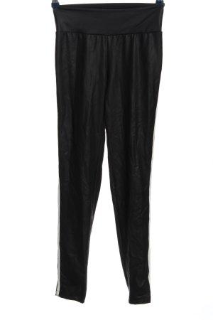Calzedonia Leggings schwarz-weiß Casual-Look