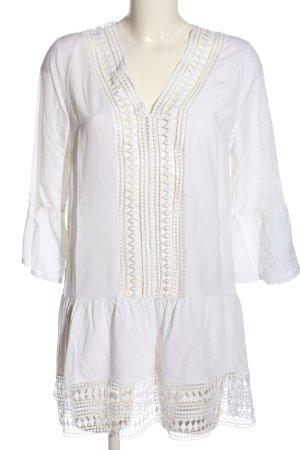 Calzedonia Camicetta lunga bianco stile casual