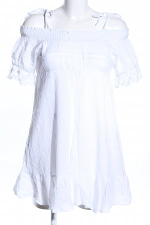 Calzedonia Minikleid weiß Elegant