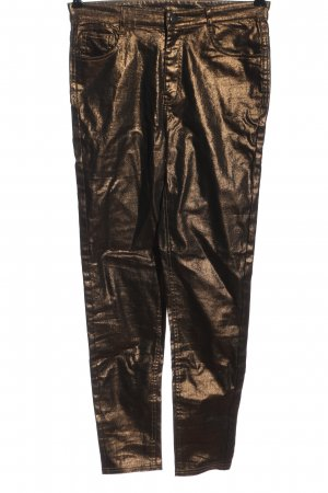Calzedonia Drainpipe Trousers bronze-colored casual look