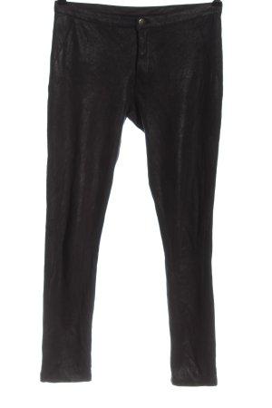 Calzedonia Pantalone a sigaretta nero effetto bagnato