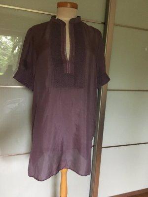 Calzedonia cobey Robe tunique gris violet