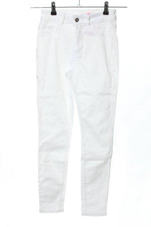 Calzedonia Slim Jeans weiß Casual-Look