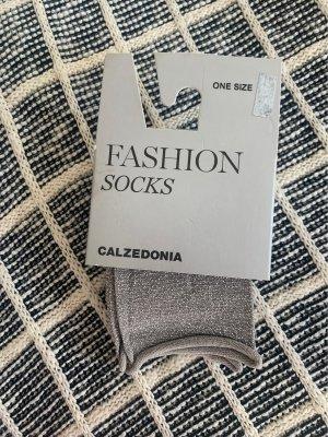 Calzedonia Jambière gris clair-argenté