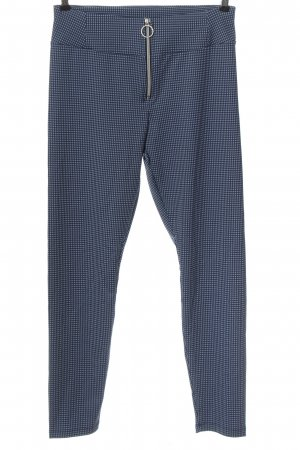 Calzedonia Jersey Pants blue allover print casual look