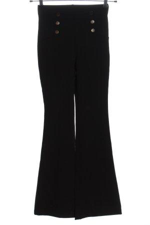 Calzedonia Jersey Pants black business style