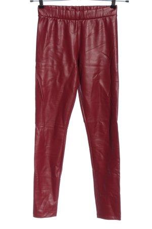 Calzedonia Pantalon en jersey rouge style extravagant