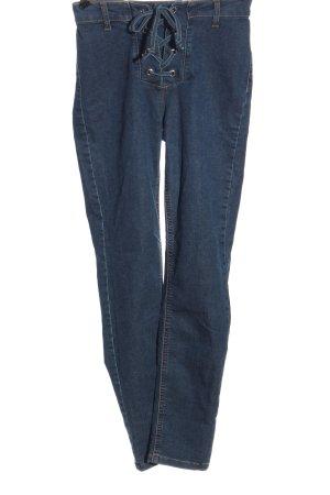 Calzedonia Straight-Leg Jeans blau Casual-Look