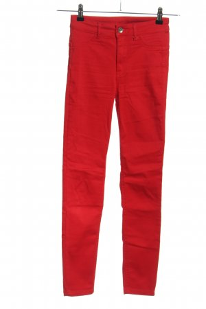 Calzedonia Stretchhose rot Casual-Look