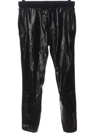 Calzedonia Sweat Pants black animal pattern casual look