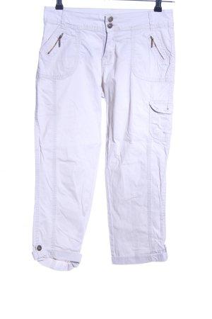 Camaieu Pantalone Capri bianco stile casual